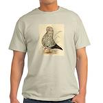 Tumbler Pigeon: Black Splash Light T-Shirt