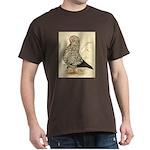 Tumbler Pigeon: Black Splash Dark T-Shirt