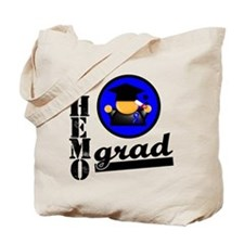 Chemo Grad Colon Cancer Tote Bag