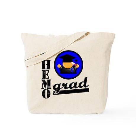 Chemo Grad Colon Cancer Tote Bag