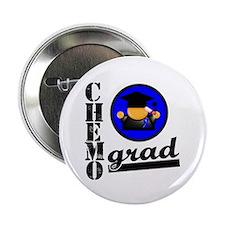 """Chemo Grad Colon Cancer 2.25"""" Button (10 pack)"""