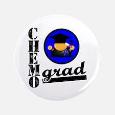 """Chemo Grad Colon Cancer 3.5"""" Button"""