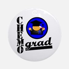 Chemo Grad Colon Cancer Ornament (Round)