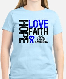 Colon Cancer Faith T-Shirt