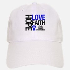Colon Cancer Faith Baseball Baseball Cap