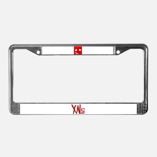 Bloody Marry License Plate Frame