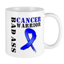 BadAss ColonCancerWarrior Small Mug