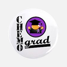"""Chemo Grad Leiomyosarcoma 3.5"""" Button"""