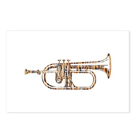 Tiger Rag Trumpet Postcards (Package of 8)