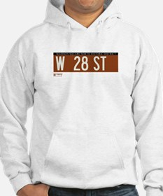 West 28th Street in NY Hoodie