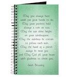 irish blessing (sq) Journal