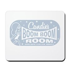 Candie's Light Blue Print Mousepad