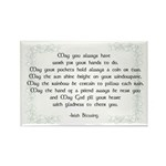 irish blessing (sq) Rectangle Magnet (10 pack)