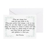 Irish blessing Greeting Cards (20 Pack)