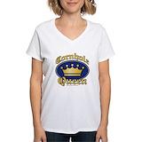 Cornhole Womens V-Neck T-shirts
