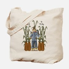 A Time to Reap Scarecrow Tote Bag