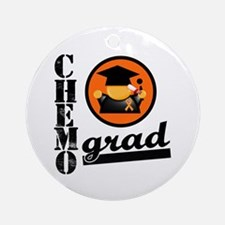 Chemo Grad Leukemia Ornament (Round)