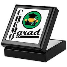 Chemo Grad Liver Cancer Keepsake Box