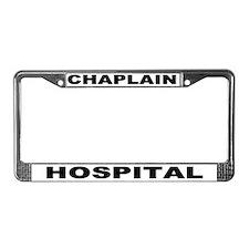 Hospital License Plate Frame