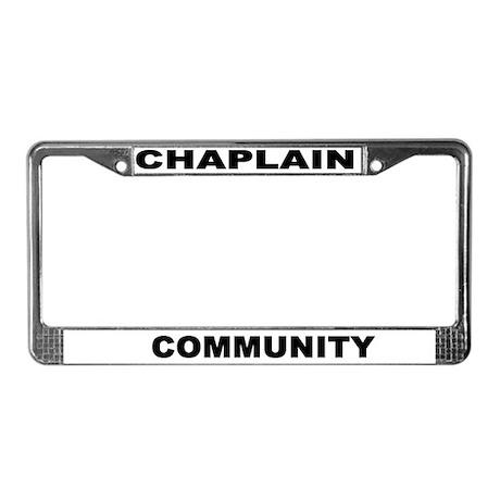 Community License Plate Frame