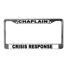 Chaplain Crisis License Plate Frame