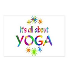 Yoga Postcards (Package of 8)