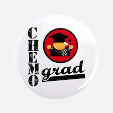 """Chemo Grad Melanoma 3.5"""" Button"""