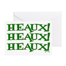 New Orleans Christmas Heaux H Greeting Cards (Pk o