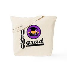 PancreaticCancerChemoGrad Tote Bag