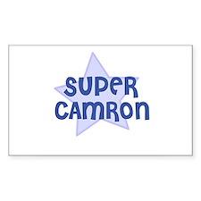 Super Camron Rectangle Decal