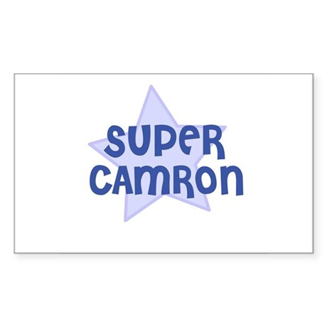 Super Camron Rectangle Sticker