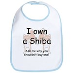 Ask Me Why Not To Buy A Shiba Bib