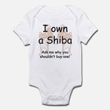 Ask Me Why Not To Buy A Shiba Infant Bodysuit