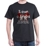 Ask Me Why Not To Buy A Shiba Dark T-Shirt