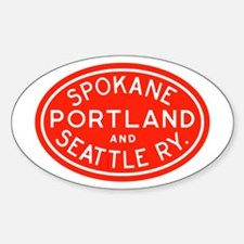 SP&S Oval Decal