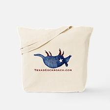 Texas Cockroach Armadillo Tote Bag