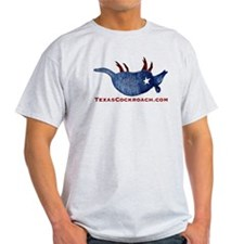 Texas Cockroach Armadillo T-Shirt