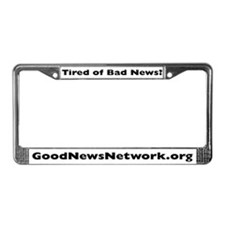 Good News License Plate Frame
