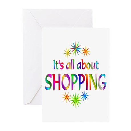 Shopping Greeting Cards (Pk of 10)