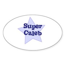 Super Caleb Oval Decal