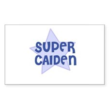 Super Caiden Rectangle Decal
