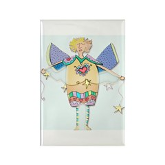 Angels Rectangle Magnet (10 pack)
