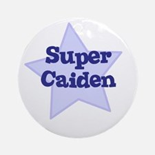 Super Caiden Ornament (Round)