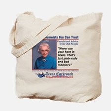 Using Your Horn Tote Bag