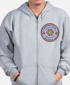 Quotations - Affirmations Zip Hoodie