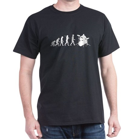 Evolution of Drumming Dark T-Shirt