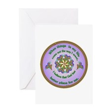 Quotations - Affirmations Greeting Card