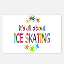 Ice Skating Postcards (Package of 8)