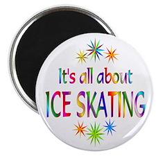"Ice Skating 2.25"" Magnet (100 pack)"