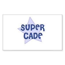 Super Cade Rectangle Decal